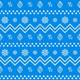 New Year icon set seamless geometric pattern. New Year and winter holidays elements background. Flat design vector texture. New Year icon set seamless geometric vector illustration