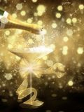 New Year illustration 1 Royalty Free Stock Image
