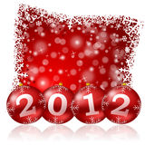 New year illustration Stock Photography