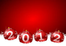 New year illustration Royalty Free Stock Photo