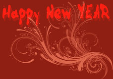 New year illustration 3 Royalty Free Stock Photography
