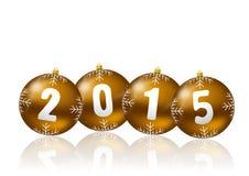 2015 new year illustration Royalty Free Stock Image