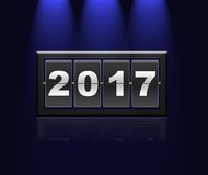New Year 2017. Royalty Free Stock Photos