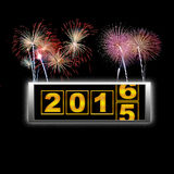 New year 2016. Stock Image