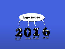 New Year 2016. Royalty Free Stock Photos