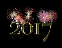 New Year 2017. Stock Photography