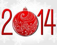 New Year illustration Stock Photography