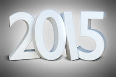 New year 2015. An image of the number 2015 new year Stock Photography