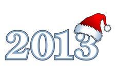 New year inscription 2013 Stock Image
