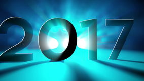 New Year Intro stock video footage