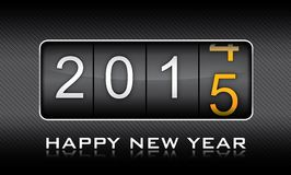 New Year 2015, invitation, countdown, celebration Royalty Free Stock Images