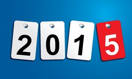 New Year 2015, invitation, world fun Stock Photography