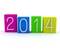 New year 2014 Royalty Free Stock Photos