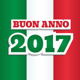 New Year 2017 Italy Stock Photography