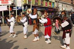 New Year in Kathmandu Stock Image