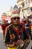 New Year in Kathmandu, Nepal Royalty Free Stock Images