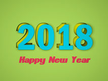 New Year 2018 with Key Royalty Free Stock Photos