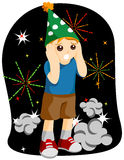 New Year Kid Royalty Free Stock Photography