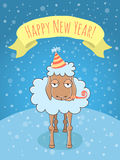 New Year Lamb Stock Photography