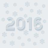 New year 2016. Royalty Free Stock Photos