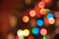 New Year Lights Royalty Free Stock Photography
