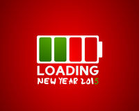 2015 new year loading Royalty Free Stock Image