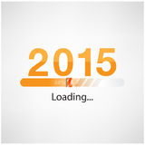 New year 2015 loading background,happy new year template. Vector illustration Royalty Free Stock Photos