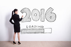 New Year is loading now Royalty Free Stock Photo
