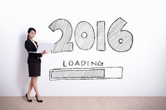 New Year is loading now Stock Image