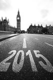 New Year in London Royalty Free Stock Images