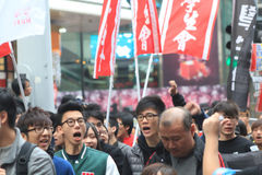 New year marches 2013 in hong kong Royalty Free Stock Photos
