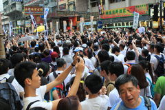 2014 new year marches in hong kong Royalty Free Stock Photos