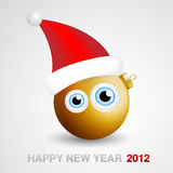 New Year Mascot. Funny New Year 2012 Mascot Stock Image