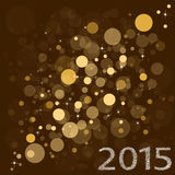 New Year 2015. Merry Christmas and Happy New Year Banner. Vector Royalty Free Stock Image