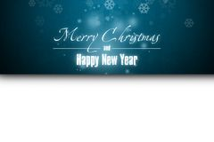 New Year 7. Merry Christmas and Happy New Year! Festive Christmas picture stock illustration