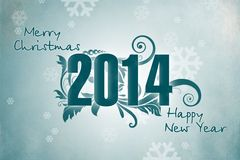 New Year 15. Merry Christmas and Happy New Year Stock Images