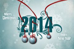 New Year 17 Royalty Free Stock Image