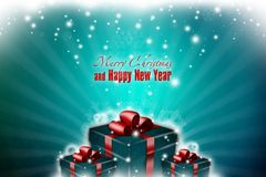 New Year 48. Merry Christmas and Happy New Year Royalty Free Stock Photography
