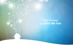 New Year 64. Merry Christmas and Happy New Year Stock Image