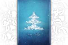 New Year 88. Merry Christmas and Happy New Year! Festive Christmas picture royalty free illustration