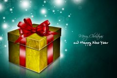 New Year 97. Merry Christmas and Happy New Year! Festive Christmas picture Vector Illustration