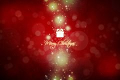 New Year 106. Merry Christmas and Happy New Year! Festive Christmas picture stock illustration