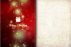 New Year 107. Merry Christmas and Happy New Year! Festive Christmas picture stock illustration