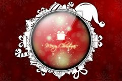 New Year 111. Merry Christmas and Happy New Year! Festive Christmas picture vector illustration