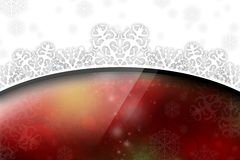 New Year 113. Merry Christmas and Happy New Year! Festive Christmas picture stock illustration