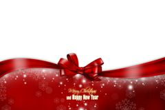New Year 138. Merry Christmas and Happy New Year! Festive Christmas picture royalty free illustration