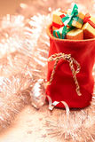 New Year 2016. Merry Christmas, Santa Claus red stock images