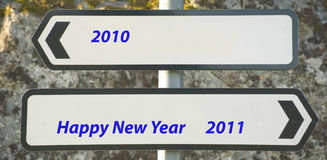 New Year Message. Stock Photography