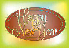 New year message Royalty Free Stock Photography