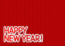 New Year message Stock Photo